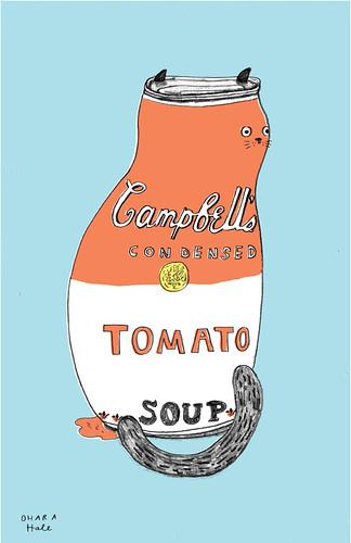 SOUP CAT  by Ohara Hale by Ohara.Hale