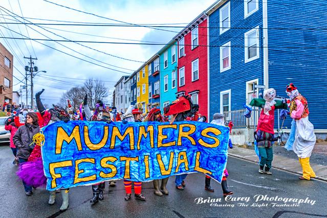 2012 Mummers Parade St John's Newfoundland Photography