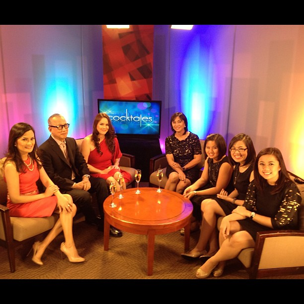 We had Atty Leni Robredo and daughters Aika, Trisha and Jillian on as guests in Cocktales today.