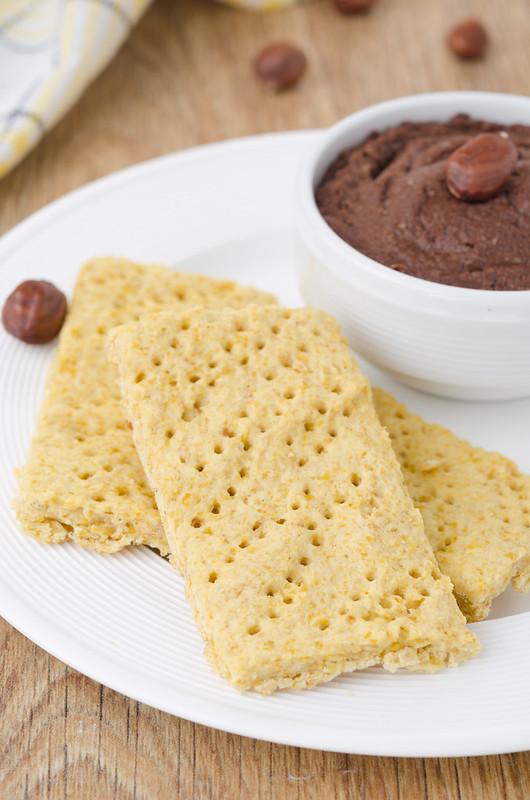 Вафли, манник, овсяное печенье и два рецепта с нутом chickpeas crackers