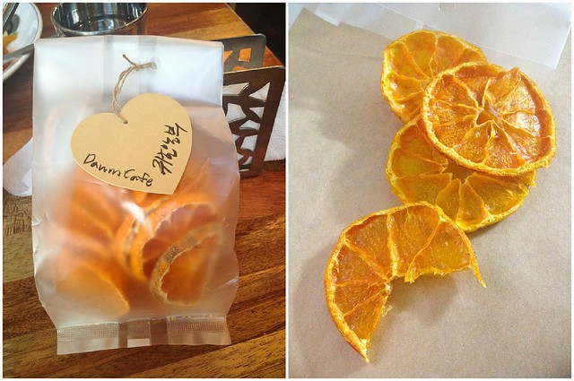 orange chips