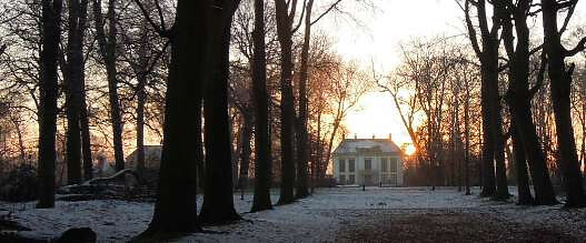 Winterzonnewende bij Nijenburg