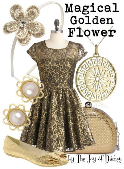 Magical Golden Flower (Tangled)
