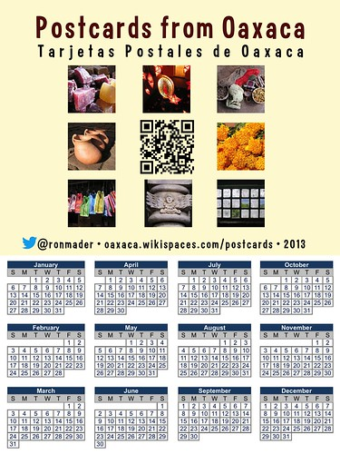 Postcards from Oaxaca (2013 Calendar)