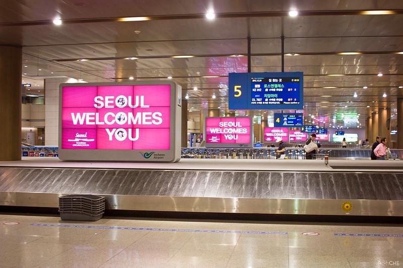 Seoul Welcomes Me