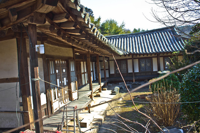 Early modern hanok estate?, Suncheon, South Korea