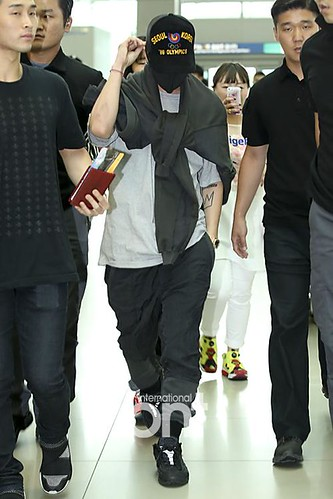 BIGBANG GDTOPDAE departure Seoul to Hangzhou Press 2015-08-25 024