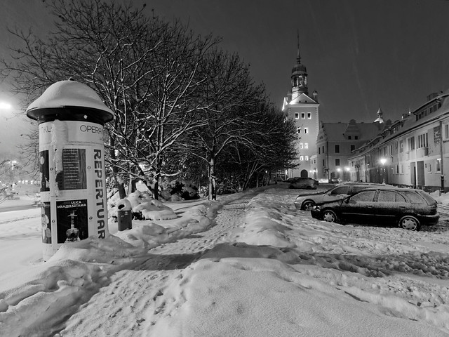 Winter in Stettin
