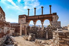 The ancient city of Ephesus. It is strange walking through such an ancient wonder almost alone. Awe! #travel #turkey #ephesus