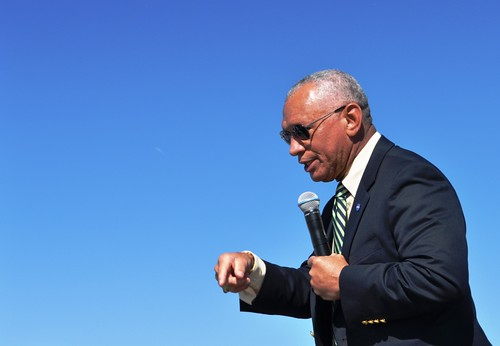 "NASA Administrator Charles Bolden Told Attendees to ""Dream Big."""