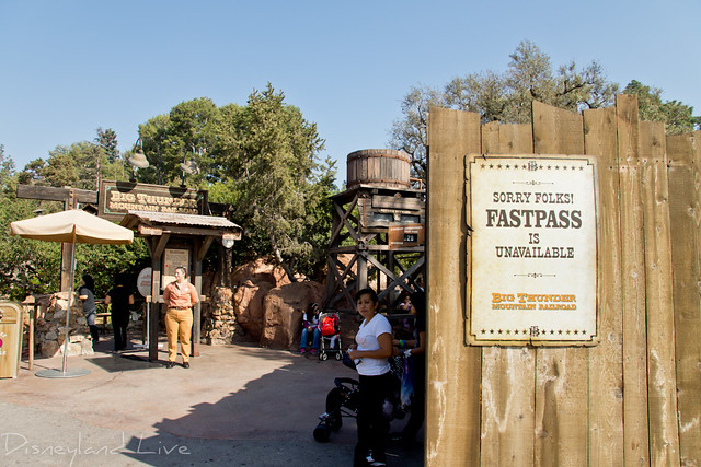 Big Thunder Mountain Railroad Fastpass Refurb