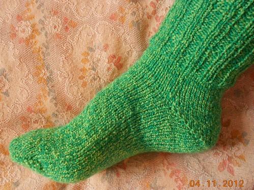 носки 6 от мыска носок целиком