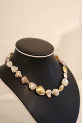 brown, pearl, jewellery, gemstone, necklace,