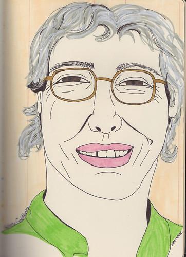 Helene Goldberg by Hank V