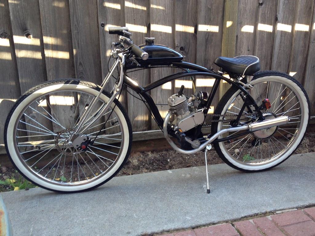 My Emt Diy Exhaust Motorized Bicycle Engine Kit Forum