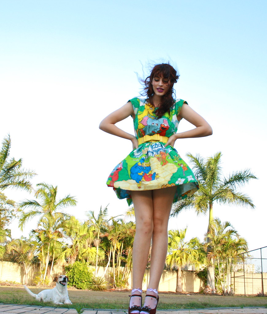 PIXIE sesame street dress