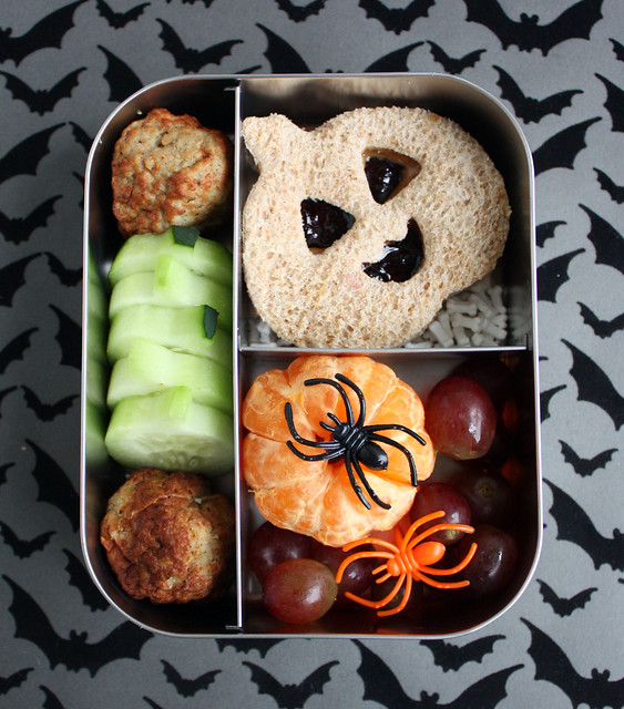 Preschool Halloween Bento Box #354