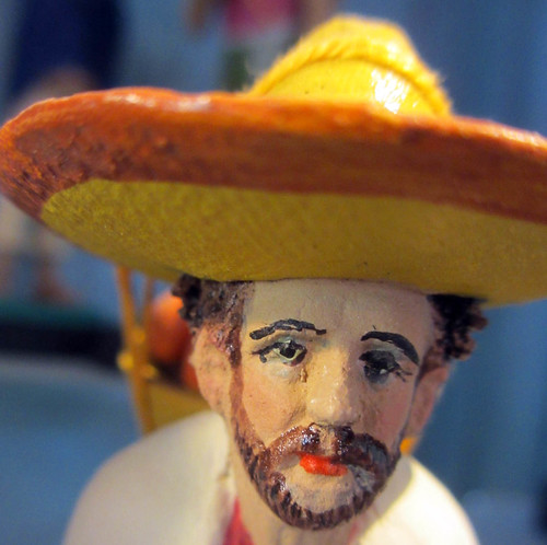 San Miguel de Allende ~ folk art faces
