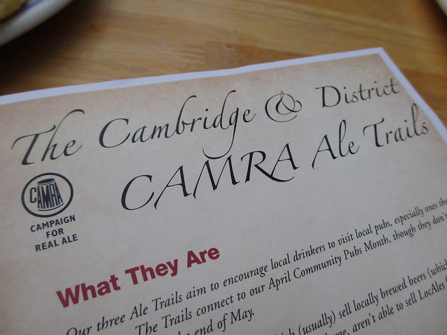 Cambridge CAMRA Ale Trail