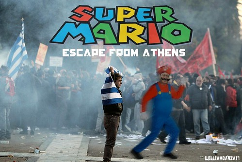 SUPER MARIO ESCAPE FROM ATHENS by Colonel Flick