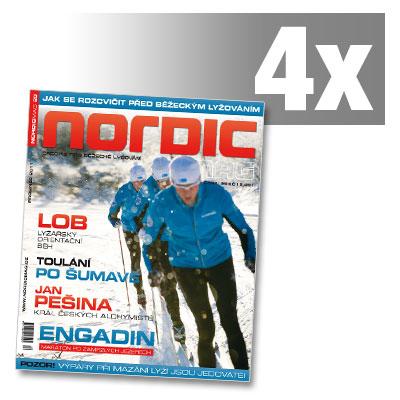 NORDIC předplatné - 4 čísla 54 až 57