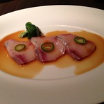 Nobu - Yellowtail Sashimi