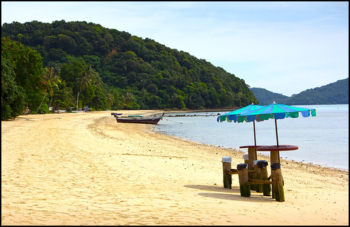 Beach at Cape Panwa Phuket