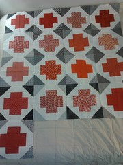 Red Cross raffle quilt!