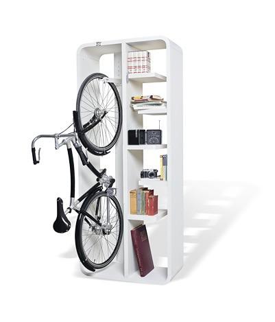Cykelbokhylla