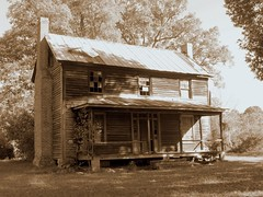House on Mountain Road, Granville Co., NC