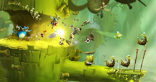 Rayman Legends Toad Story Gameplay Trailer and Screenshots
