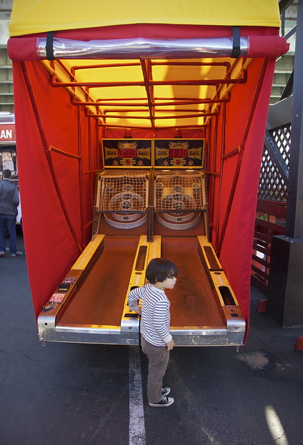 Skee Ball Curious