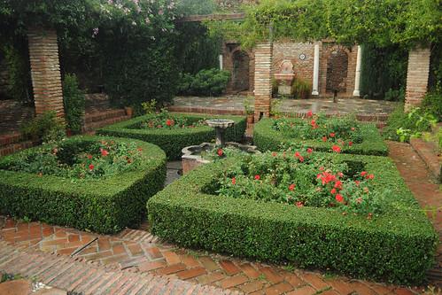 Alcazaba gardens
