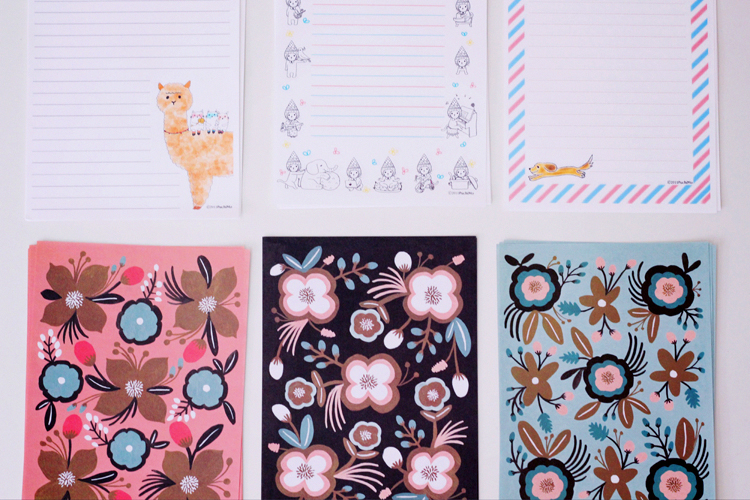 face stationary papers