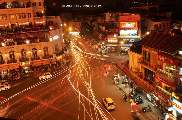 Hanoi Night Lights, Vietnam