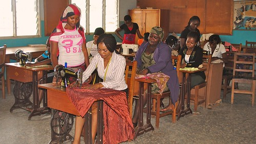 Dressmaking is also taught at Mater Dei Vocational Training Centre, Akure, Ondo State, Nigeria