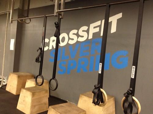 CrossFit rings