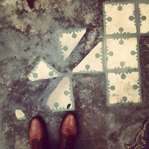 #mosaicohidráulico #serpa