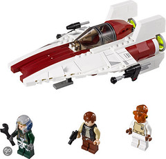 75003 A-wing Starfighter - 1
