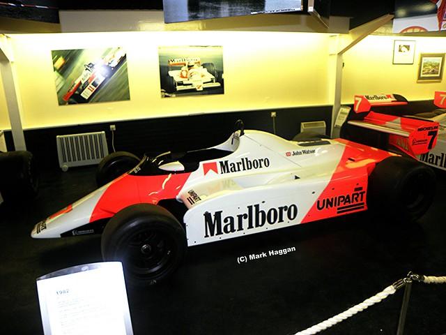 John Watson's 1982 McLaren at The Donington Collection