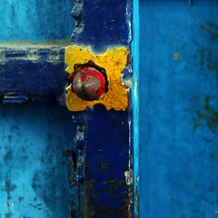 Blue door details,... by Zé Eduardo...