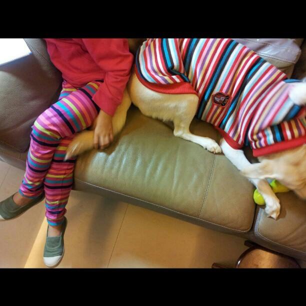 20121117 姊妹裝。