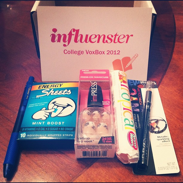 Did anyone else get this #influenster #voxbox?