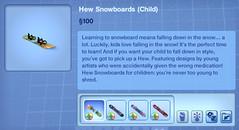 Hew Snowboard (Child)