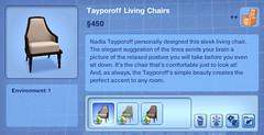 Tayporoff Living Chairs