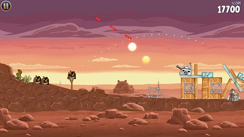 Angry Birds Star Wars actually does justice to both licenses. For two cash-in kings, that's an impressive accomplishment.
