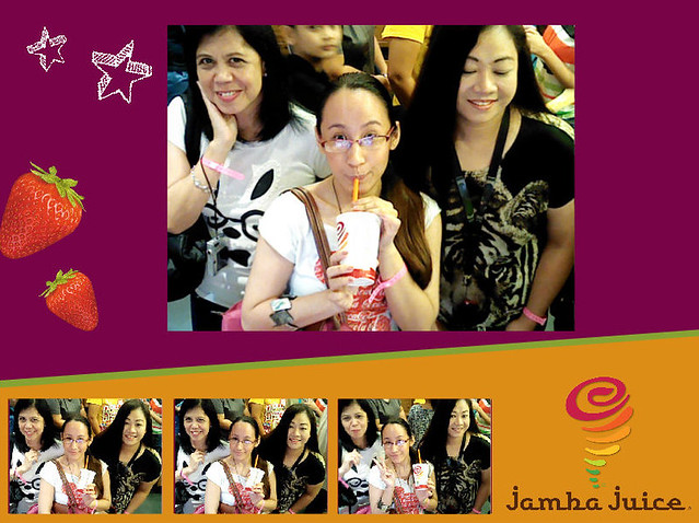 Jamba Juice SM North Opening with Myrns and Cha