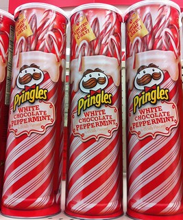 NEW White Chocolate Peppermint Pringles (2012)