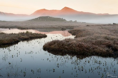 Red Mountain, Loch Ba, Rannoch Moor. by David Hannah