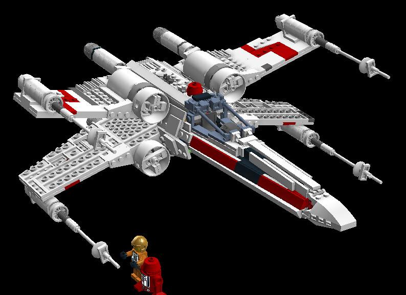 X-wing 8203912913_a98fbee6e2_b
